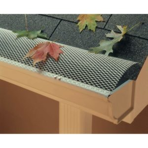 gutter protector to keep leaves out of gutter