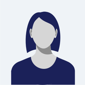 Placeholder avatar of a female figure